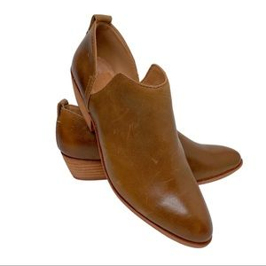NWT FRYE AND CO. Tobacco Rubie Slip-On Bootie 6.5